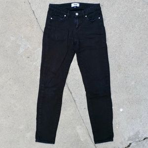 Paige Black Verdugo Ankle Skinny Jeans Size 26